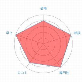 東京ミネルヴァ法律事務所レーダーチャート
